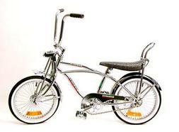 "20"" Lowrider Beach Cruiser Complete W/ 68 spoke Steel Bike B"