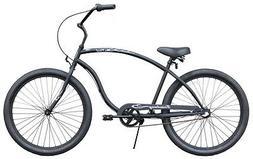 "26"" Beach 3 speed Cruiser Bike W/ Forward Crank Firmstrong M"