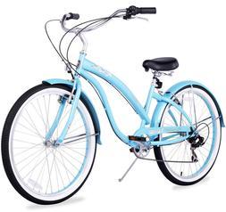 "26"" Beach Cruiser Bike Bicycle Firmstrong Bella Classic Wome"
