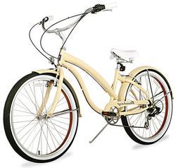 "26"" Beach Cruiser Bike Bicycle Firmstrong Bella Fashionista"