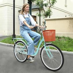 "26"" Beach Cruiser Bike Bicycle Firmstrong Urban Women Classi"