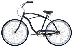 "26"" Beach Cruiser Bike Bicycle Firmstrong Urban Men 3 SPD Bl"