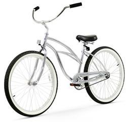 "26"" Beach Cruiser Bike Bicycle Firmstrong UrbanMen Black"