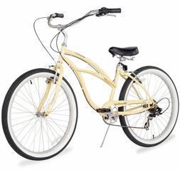 "26"" Beach Cruiser Bike Bicycle Firmstrong Urban Women 7 SPEE"