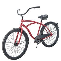 "Huffy 26"" Cranbrook Men's Beach Cruiser Comfort Bike - Red"