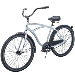 "Huffy 26"" Cranbrook Men's Beach Cruiser Comfort Bike - White"
