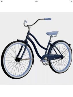 "Huffy 26"" Cranbrook Women's Beach Cruiser Bike, Dark Blue"