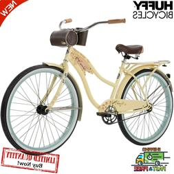 "26"" Women's Cruiser Bike Huffy Panama Jack Beverage Hold"