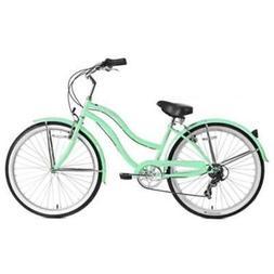 """Micargi 26"""" Pantera 7 speed Lady beach cruiser bicycle bike"""