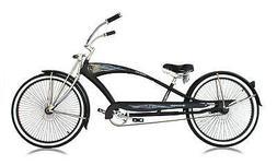 "26"" Stretch Beach Cruiser Micargi Puma GTS 68 Spokes Bicycle"