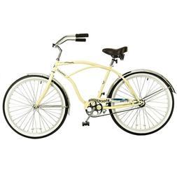 """26"""" Titan Docksider Deluxe Men's Beach Cruiser Bike, Glossy"""