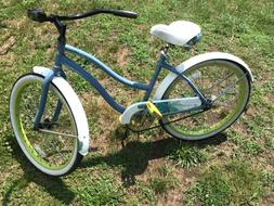 "Huffy 26""  woman's  Beach Cruiser Comfort Bike, Clean,tune"