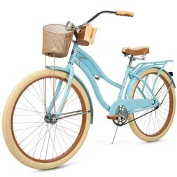 "Women's 26"" Classic Beach Cruiser Bike Perfect Fit Comfort R"