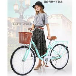 26in Beach Cruiser Women's Bike City Retro Bicycle Universal