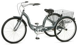 3 Wheel Bike Adult Tricycle Beach Cruiser Trike Speed Bicycl