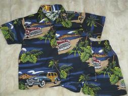 Pacific Legend 4T Toddler Cotton Hawaii Car Cruiser Tropical