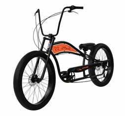 """7-Speed Stretch Beach Cruiser Bike 29"""" X 3.0 FRONT 26"""" X 3.0"""