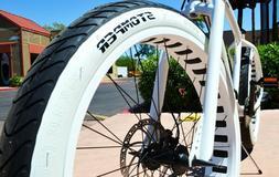 Beach Cruiser DURO BEACH BUM White Wall Bicycle Tires  26x3.