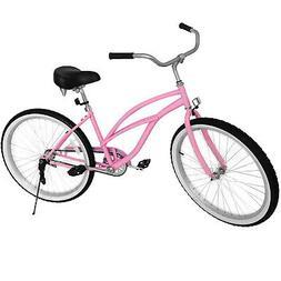 "Beach Cruiser Bike 26"" Beach Cruiser Bicycle Cycling Durable"
