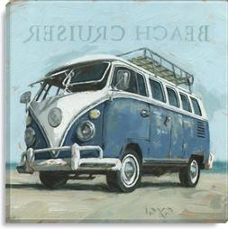 Beach Cruiser Bus Volkswagon Painted By Darren Gygi 5 X 5 in