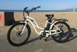 Beach Cruiser Electric Bike - 500 watt 48 volt 13 amp E-bike
