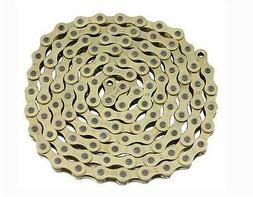 BICYCLE CHAIN GOLD 1/2 X 1/8 X 112 LINK BMX BEACH CRUISER LO