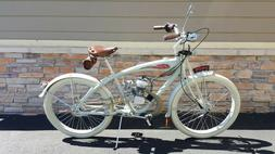Bicycle: Custom Felt 2015 Model 1909- Motorized Beach Cruise