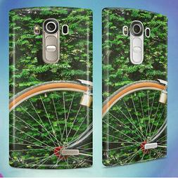 BLACK BEACH CRUISER BICYCLE HARD BACK CASE COVER FOR LG PHON