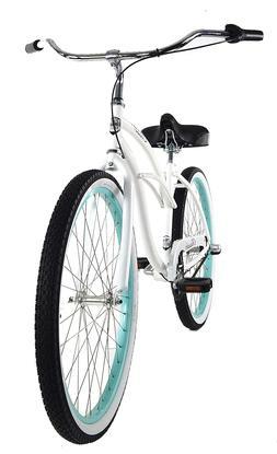Zycle Fix Classic Beach Cruiser Women 3 Speed Bicycle Bike W