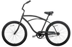 coastal beach bicycle adult hybrid new black