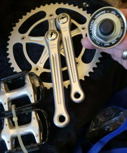 crankset package conversion from 1 peace to
