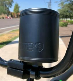 SIKK Cruiser Bicycle Stainless Insulated Can Holder Flat Bla