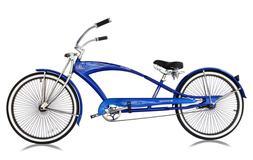 "CUSTOM 26"" Stretch Beach Cruiser Bike w/68 Spokes PUMA-GTS B"