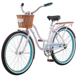 "Schwinn Destiny Women's Cruiser Bike, Single Speed, 24"" Whee"