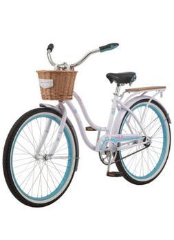 schwinn Destiny Women Beach Cruiser Bike, Single Speed, 24 I