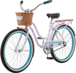 Schwinn Destiny Womens Beach Cruiser Bike, Single Speed, 24-