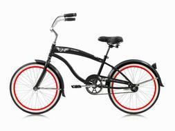 "MICARGI FAMOUS 20""  KIDS BICYCLE BEACH CRUISER BIKE CHOPPER"