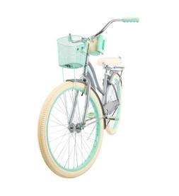 gray bike nel lusso beach cruiser 26