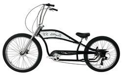 """26"""" Beach Cruiser Men Bike 68 Spoke Stretch Retro Coaster Br"""