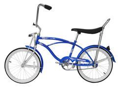 """Micargi HERO-M-BL Men's 20"""" Beach Cruiser Banana Seat Bicycl"""