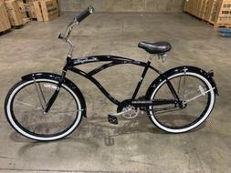 "Micargi HUNTINGTON-MBK 26"" Oversized Beach Cruiser Bicycle B"