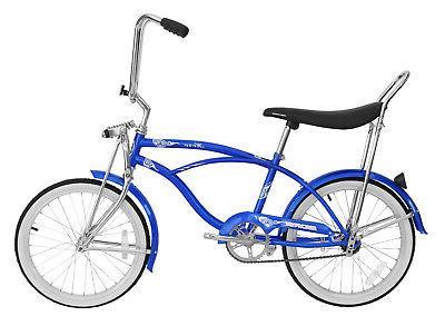 "20"" Beach Cruiser Bicycle Bike LowRider MBI Micargi Hero Red"