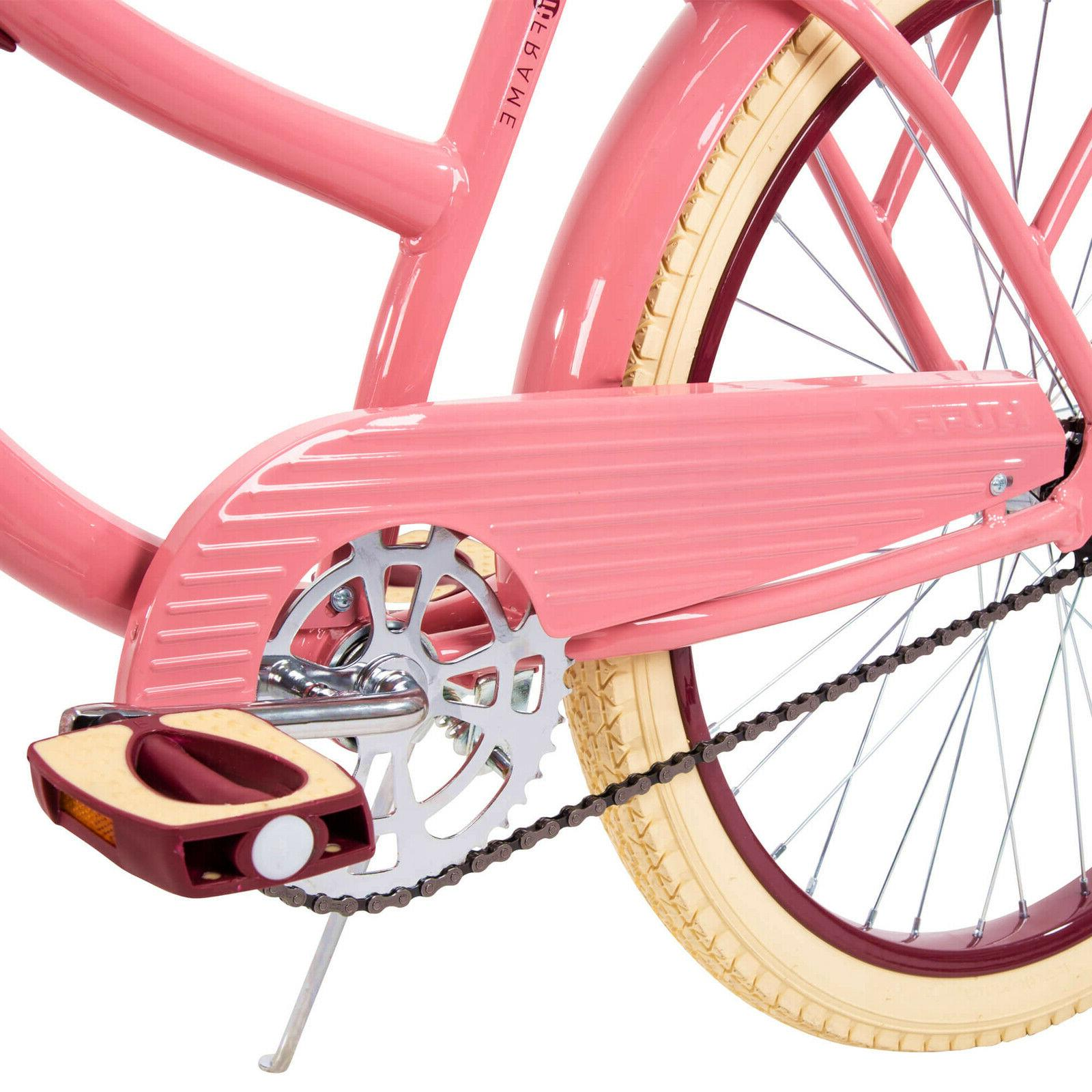 """Huffy 24"""" Womens Nel Beach Bike with Perfect Fit Frame"""