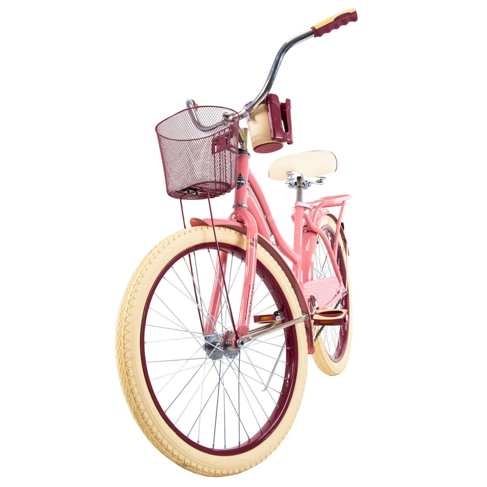 """Huffy 24"""" Nel Cruiser Bike with Fit Frame Pink"""