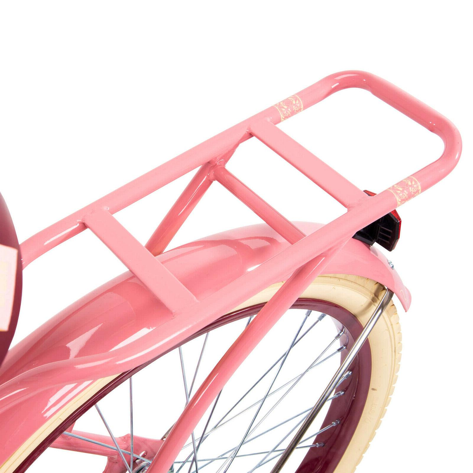 Huffy Nel Lusso Bike with Fit Frame Pink