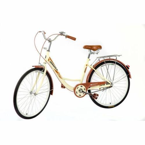 26in Beach Bike Brown Comfortable Cycling Seat