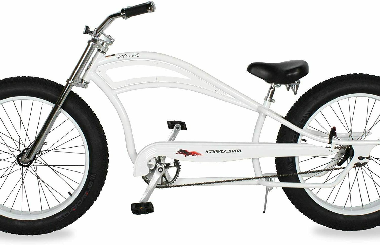 MICARGI Fat Tires Stretch Beach Bike Seattle Matte NEW