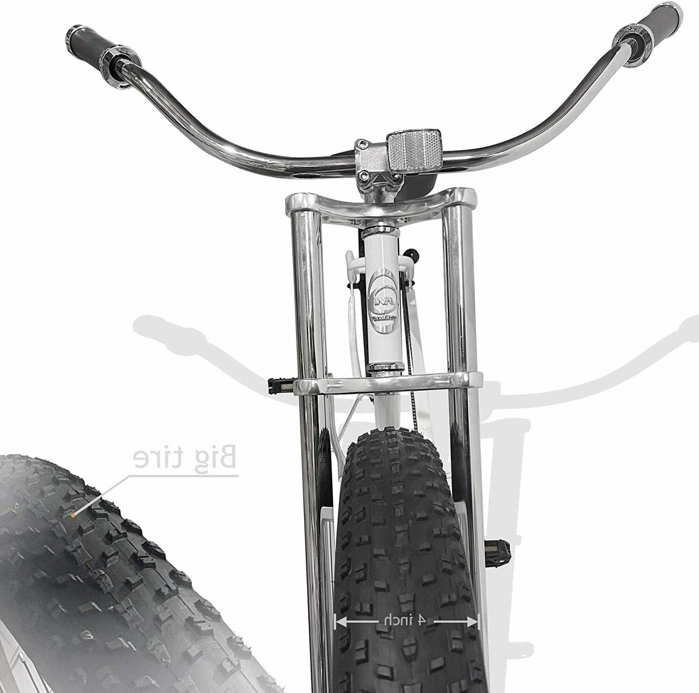 MICARGI Fat Stretch Bike Seattle White NEW