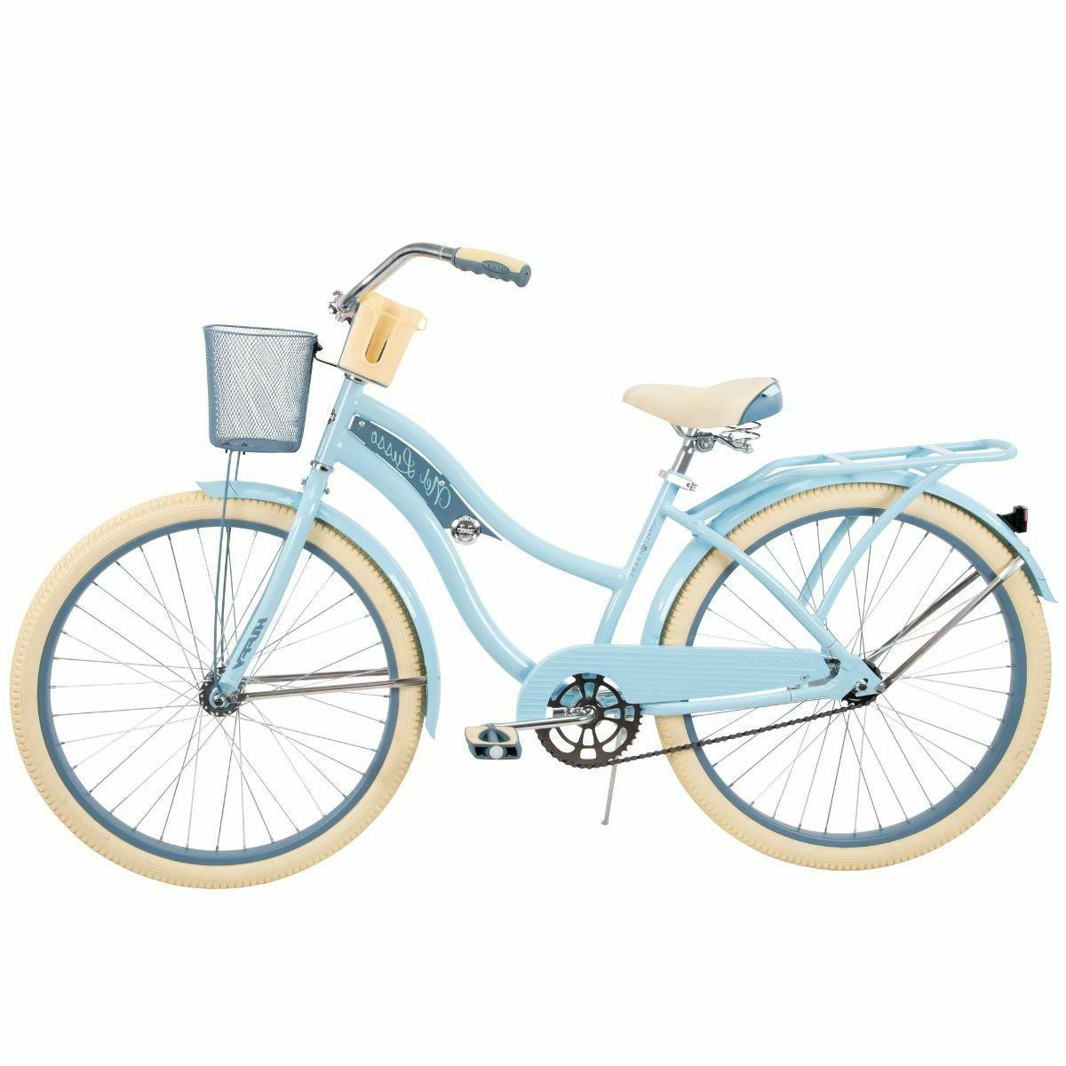 Huffy 26-Inch Nel Lusso Women's Beach Cruiser Bike 56579P7 Blue In-Box