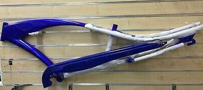 "26"" Stretch Beach Bicycle Micargi Puma Frame Blue"